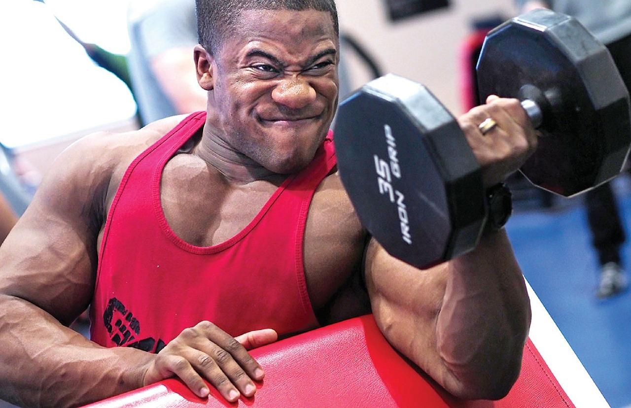 Bizeps Muskeln